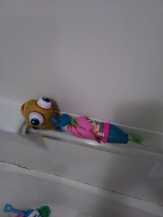 slob, humor, tub toys